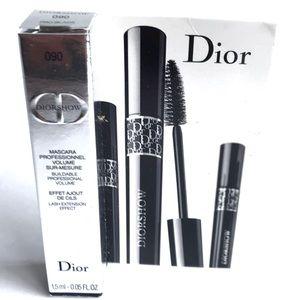Dior DiorShow Mascara 090 Pro Black Mini Travel